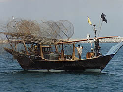 Fish traps (gargur), UAE (Private client 1994)