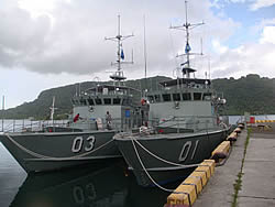 Pacific Patrol Boat, FS Micronesia, IUU and Catch Certification (EU / GOPA)